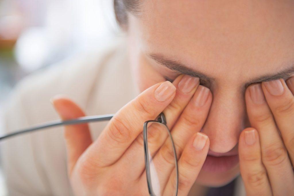 eye pollution problem