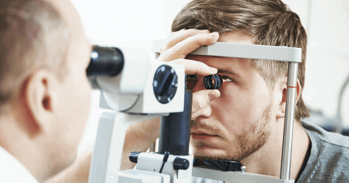 glaucoma eye test