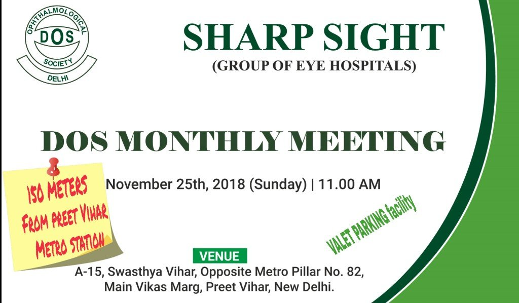 dos monthly meeting november 25 2018